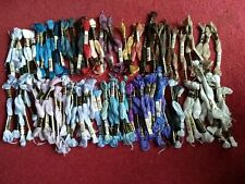 Approx 110 DMC Embroidery Cross Stitch Threads Skeins