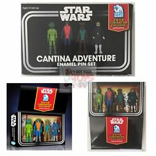 "CANTINA ADVENTURE 4 Pack Gentle Giant SDCC 2018 STAR WARS 1.75"" ENAMEL PIN SET"