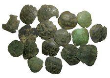 LOTTO di 17 Unique comnenos, paleologus&tessalonica Trachy 22.90 G / 20-26mm RR r-870
