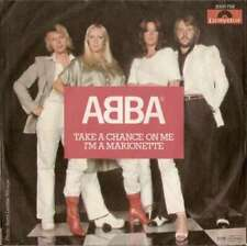 "ABBA Take A Chance On Me / I'm A Marionette 7"" Single Vinyl Schallplatte 43524"