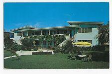 Vintage Postcard Fort Lauderdale FL Windsor Manor Apartments 2835 Terramar St