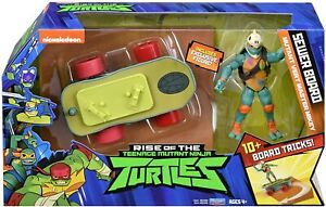 Nickelodeon Rise of the TMNT Sewer Board with Mutant Vert Master Mikey