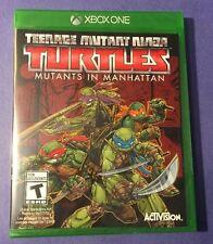 Teenage Mutant Ninja Turtles: Mutants in Manhattan for Xbox One (Factory Sealed)