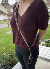 Brown Leather Adustable Camera Sling
