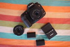 Canon 7D Mark ii Used w/ lenses + batteries