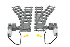 Lego Train Track 7895 Left and Right Switch and Motorised Switch Kit 2pack