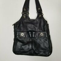 Marc by Marc Jacobs Bowler Turnlock Leather Bag