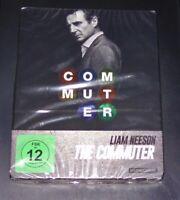The Commuter Avec Liam Neeson Limitée steelbook Édition blu ray Neuf & Ovp
