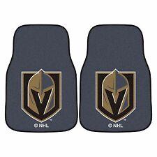 Vegas Golden Knights 2-Piece Carpet Car Auto Floor Mats