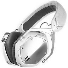 NEW V-MODA Crossfade Wireless Over-Ear Headphone - White Silver FREE2DAYSHIP