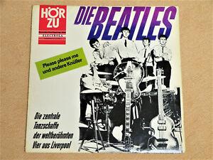 LP Beatles Die Zentrale Tanzschaffe Hör Zu HZE 117 Mono 06.02.1964