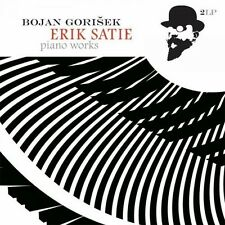 Erik Satie - Piano Works - Bojan Gorisek (2015, Vinyl NEUF)2 DISC SET