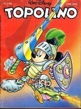 fumetto TOPOLINO WALT DISNEY numero 2160