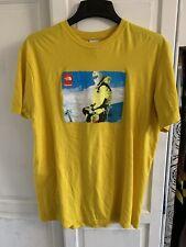 Supreme x The North Face T-Shirt Yellow - Medium