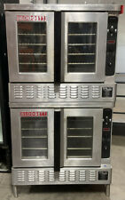 Used Blodgett Double Stack Convection Oven Dfg 200 Natural Gas