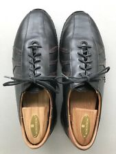 Allen Edmonds Traveler Mens Black Brown Leather Shoes Dress Casual Oxford 10.5 D