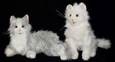 Hasbro Grey & White FurReal Friends My Cuddlin Kitty LuLu & White Persian Cat