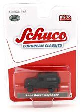 1:64 SCHUCO European Classics *BLACK* Land Rover Defender 4x4 *MiJo* NIP