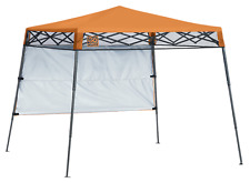 Shelter Logic Quik Shade Ultra Compact 6' X 6' Orange Backpack Canopy 167522