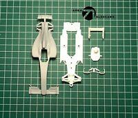 TA71 HIGH TECH 3D PRINTED 1/32 SCALE SLOT CAR KIT. GENERIC F1 2016