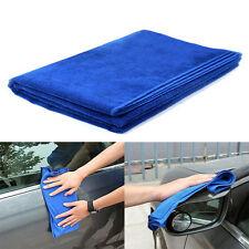 New Blue Microfiber Car Cleaning Towel Durable Car Wax Wash Polish Towel Tools