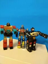 "1982 Bandai Voltron 1 Matchbox 6"" Toy Robot Diecast Metal & Black Gladiator READ"