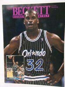 Beckett Basketball Monthly August 1993 Issue #37 SHAQUILLE O'NEAL Cover