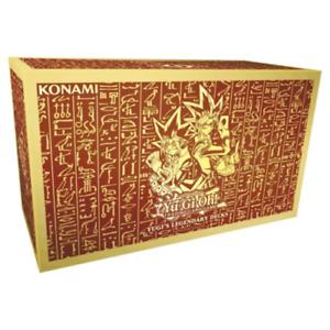Yugioh YUGI'S LEGENDARY DECKS 1 Box 3 DECKS - EXODIA DECK & EGYPTIAN GODS SET!
