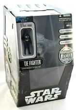 STAR WARS SAGA COLLECTION GREY IMPERIAL TIE FIGHTER & PILOT LARGE SCALE MIB