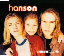 HANSON MMM BOP 4 TRACK CD SINGLE FREE P&P HEX HECTOR MIX