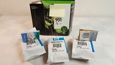 3 genuine HP #901 tricolor ink cartridges new