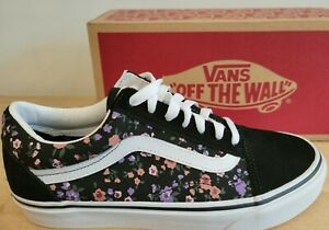Vans Classic Old Skool Floral Sneaker Shoes for Everyday Style for Women