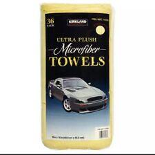 kirkland signature Ultra Plush Microfibre Towels Auto Home 36 Microfiber Pack