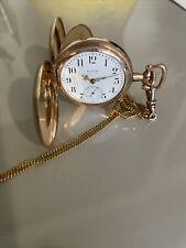 gold filled case antique elgin pocket watch