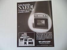 advertising Pubblicità 1981 NARDI ELETTRODOMESTICI - PALAZZOLO MILANESE