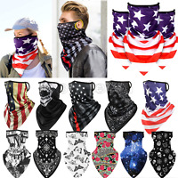 Outdoor Balaclava Neck Gaiter Head Tube Bandana Scarf Face Mask Mouth Cover Wrap