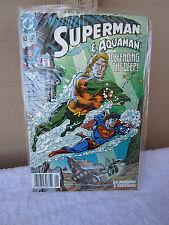 Vintage Superman & Aquaman #63 Jan 1992 Comic * Dc Comics * Defending The Deep