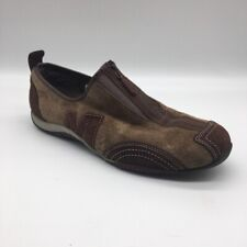 Merrell Womens Barrado Athletic Shoes Mocha Brown J76336 Low Top Leather Zip 9 M