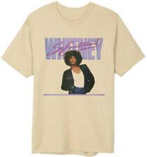 Whitney Houston-So Emotional-X-Large Grayish Beige T-shirt