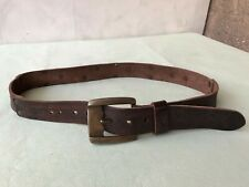 Vintage 'Diesel' Leather Belt Brown