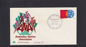 Australia 1971, Royal Australian Natives Association FDC (red & green design)