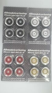 1:18 Scale BBS RS 16 INCH TUNING WHEELS WITH wheellogos now included!, NEW!!