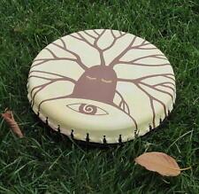 Shaman Drum Tambourine, frame drum,, handcrafted ethno folk 25cm 10'