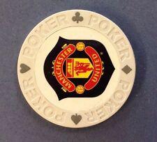 Manchester United Poker Chip Golf Ball Marker Card Guard Man Utd MUFC NEW