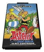 Asterix and the Great Rescue Sega Mega Drive PAL *Complete*