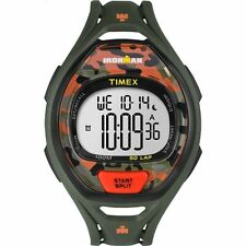 Timex TW5M01200, Men's 50-Lap Ironman Green Resin Watch, Indiglo, TW5M01209J