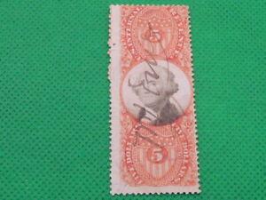 UNITED STATES , INLAND REVENUE , $5 , R148     (S1211)