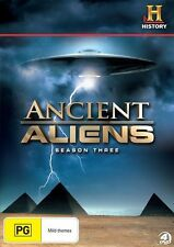 Ancient Aliens : Season 3 (DVD, 2013, 4-Disc Set)