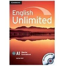 English Unlimited Starter Coursebook With E-Portfolio: By Adrian Doff