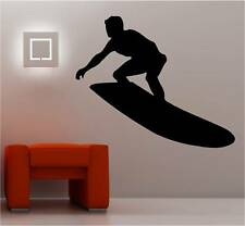 énorme SURFER SURF Art mural autocollant vinyle chambre d'enfant